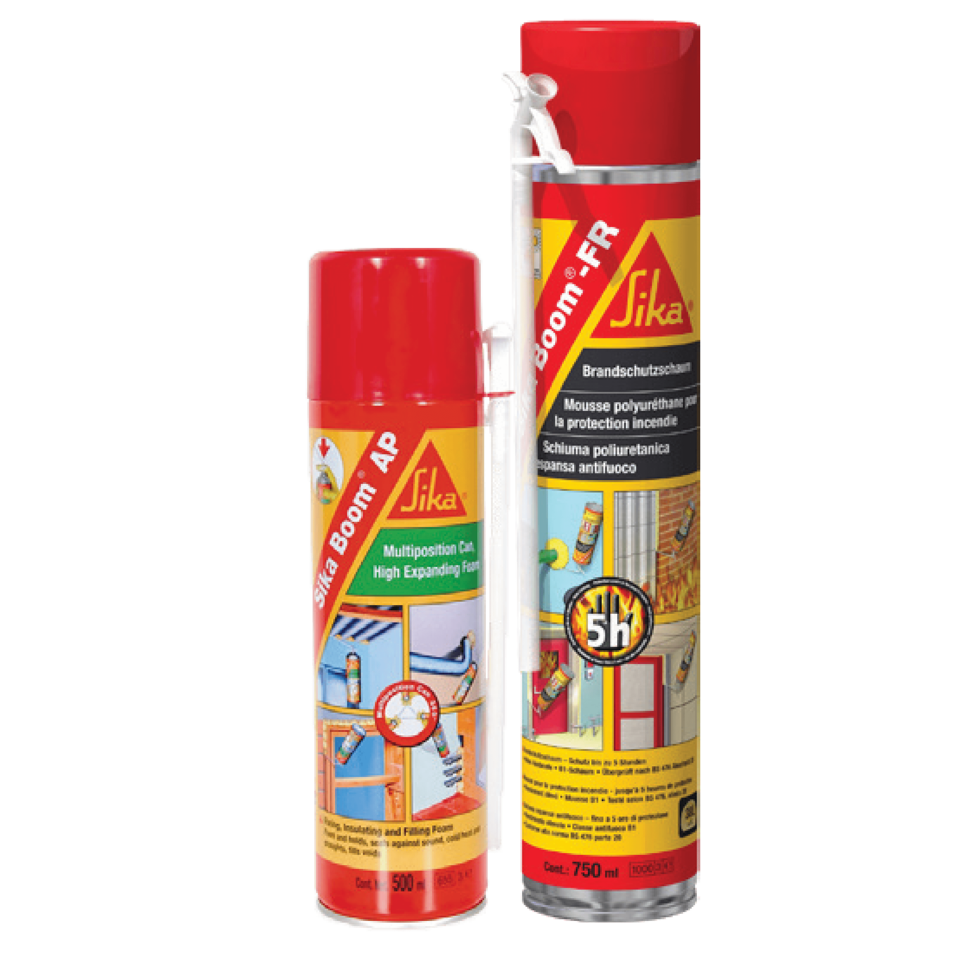 Sika Boom® AP (All Purpose)  /  Sika Boom® FR (Fire Rated)