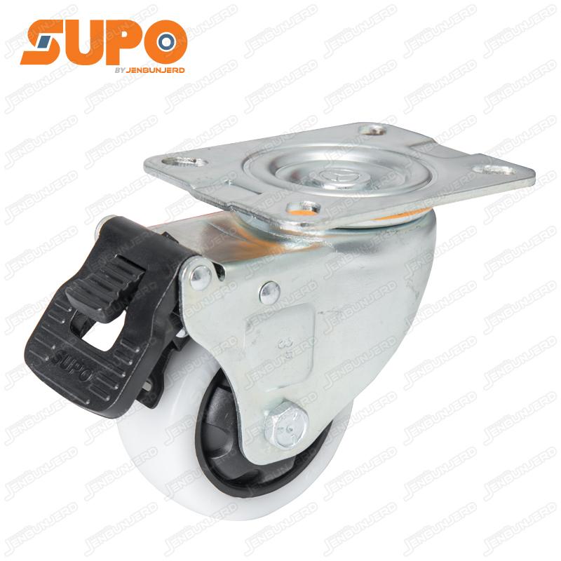 Z03 Polyamide Castor Wheel 75 mm - Swivel+Brake