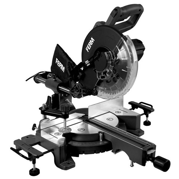 Radial mitre saw 1900W - 254mm with laser | MSM1040